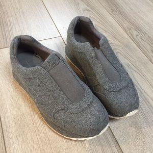 ZARA Gray fabric sneakers